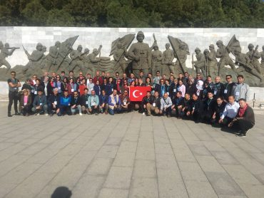 81 İL 81 ÖĞRETMEN PROJESİ İLE ÖĞRETMENİMİZ ÇANAKKALE'DE